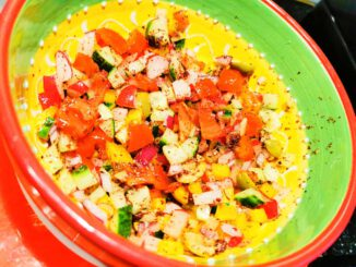 Chik chak salade